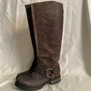 Steve Madden Women's 'Judgemnt' Leather Boots